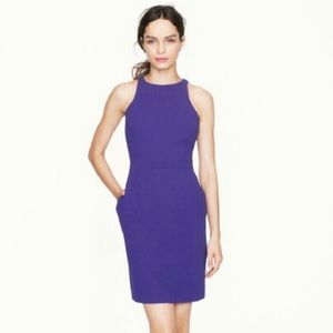 NWT J. Crew Cutaway Crepe Dress